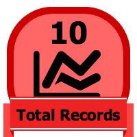 10 Total Records Badge